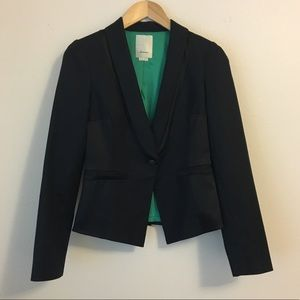 Anthropologie Elevenses Gamine Tux Blazer Jacket